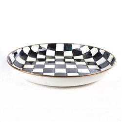 Mackenzie-Childs Courtly Check Enamel Abundant Bowl