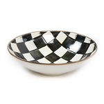 Mackenzie-Childs Courtly Check Enamel Gourmand Coupe