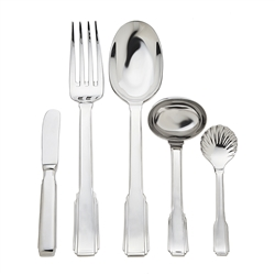 Ricci Argentieri Art Deco 5-Piece Hostess Set