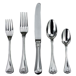 Ricci Argentieri Cellini Stainless 5-Piece Place Set