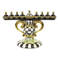 MacKenzie-Childs Courtly Check Menorah