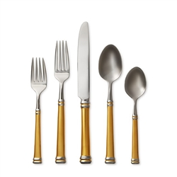 Ricci Argentieri Royal Bramasole Gold 20pc. Flatware Service for 4