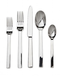 Ricci Rapollo 5pc. Stainless Flatware Set