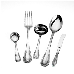 Ricci Argentieri Merletto 5-Piece Hostess Set