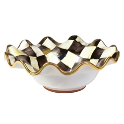 Mackenzie-Childs Courtly Check Breakfast Bowl