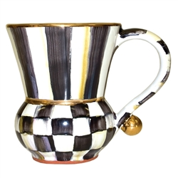 Mackenzie-Childs Courtly Check Mug