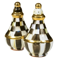 Mackenzie-Childs Courtly Check Salt & Pepper Shakers
