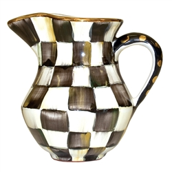 MacKenzie-Childs Courtly Check Creamer