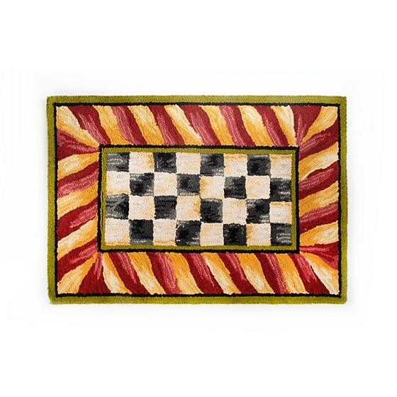 Mackenzie Childs Courtly Check Rug