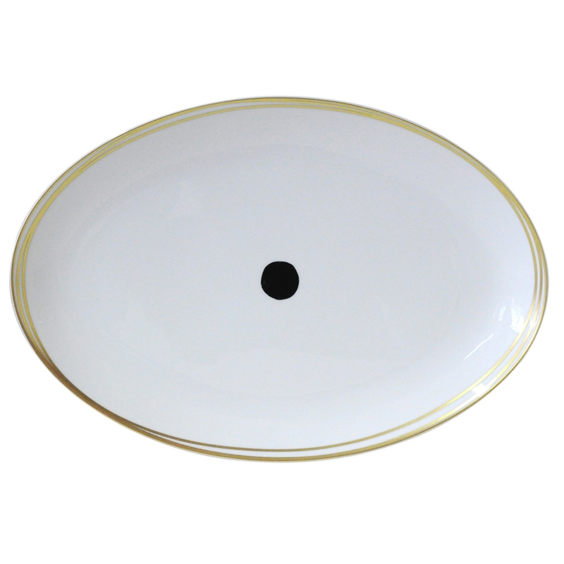 Bernardaud Aboro Oval Platter -15in