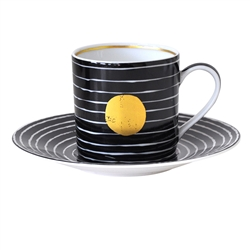 Bernardaud Aboro After Dinner Saucer Only Black