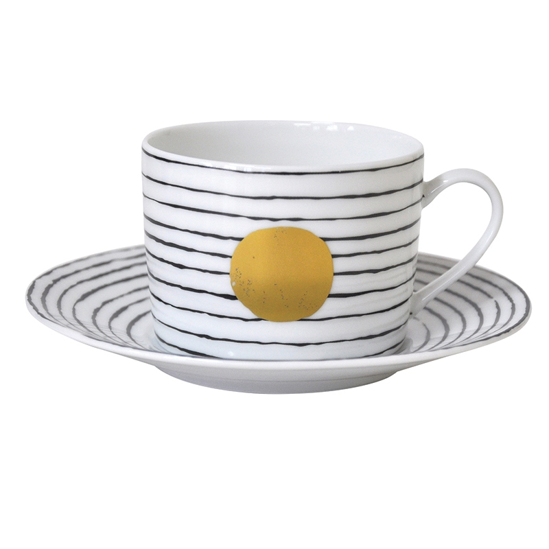 Bernardaud Aboro Tea Saucer Only