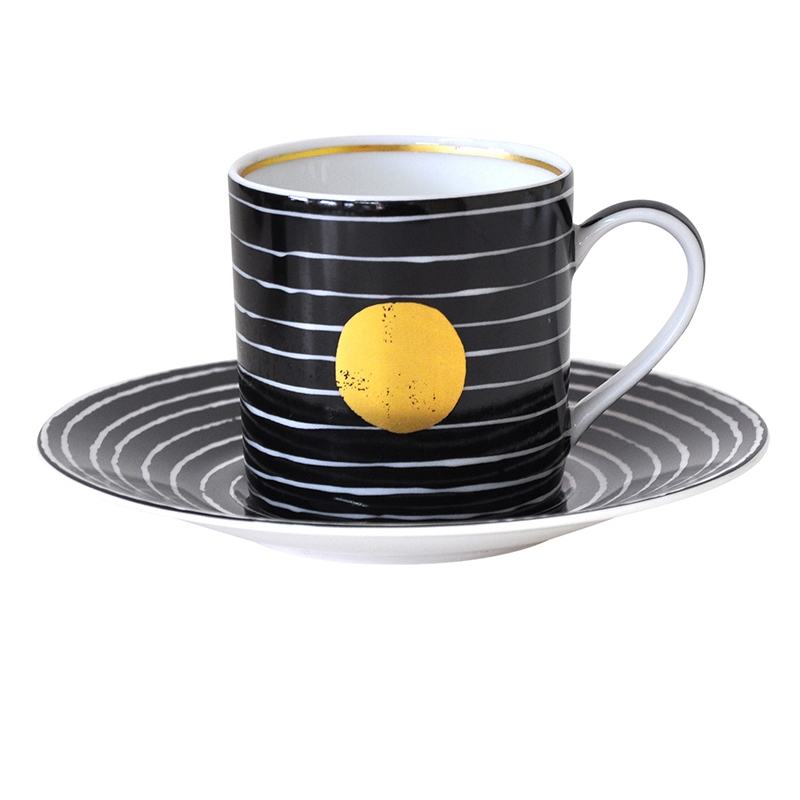 Bernardaud Aboro After Dinner Cup Only Black