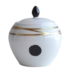 Bernardaud Aboro Sugar Bowl Boule Shape