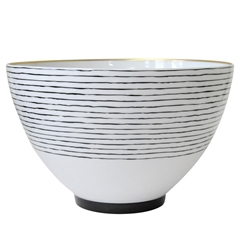 Bernardaud Aboro Deep Salad Bowl - 10.6in
