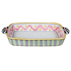 MacKenzie-Childs Piccadilly Baking Dish