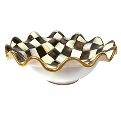 MacKenzie-Childs Courtly Check Medium Serving Bowl