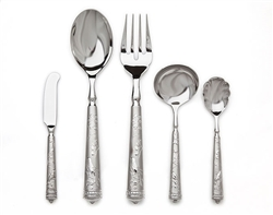 Ricci Argentieri Audubon's Bird Of Paradise 5-Piece Hostess Set