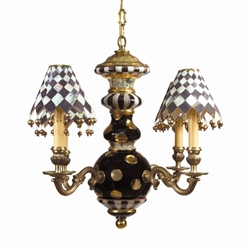 Mackenzie-Childs Black Tie Chandelier