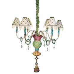 Mackenzie-Childs Thistle Chandelier