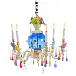 MacKenzie-Childs Merrfield Chandelier - Small