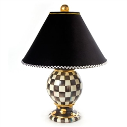 MacKenzie-Childs Courtly Check Medium Globe Lamp
