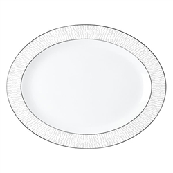 Bernardaud Dune Oval Platter 15in.
