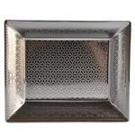 Bernardaud Limoges Divine Platinum Rectangular Dish