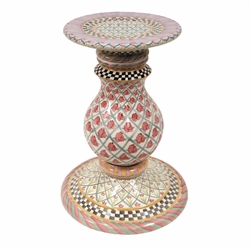Mackenzie-Childs Pedestal Table Base Carousel