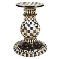 Mackenzie-Childs Pedestal Table Base Courtly Check