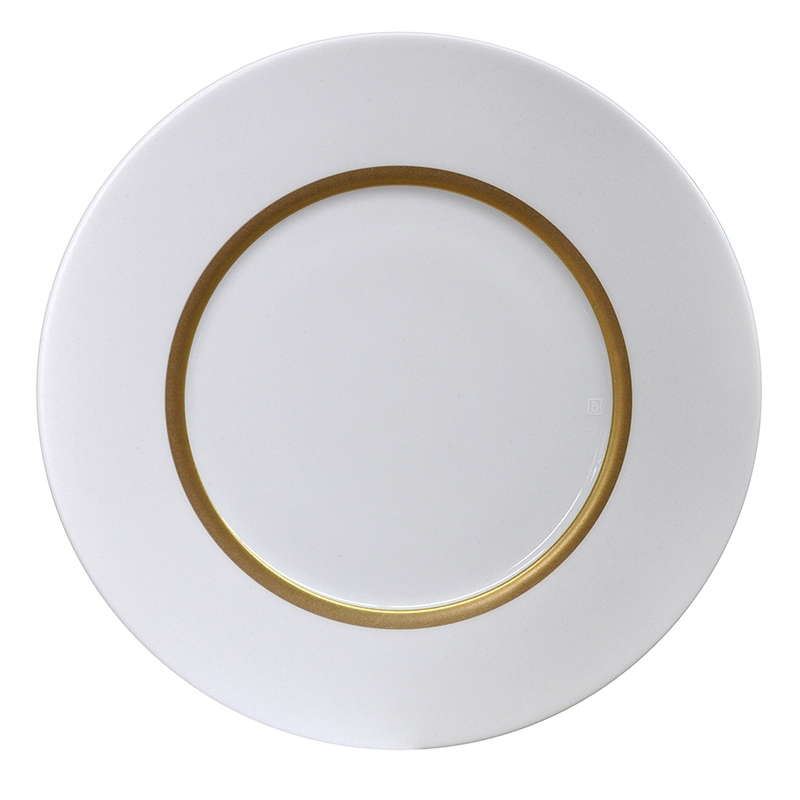 Bernardaud Limoges Cronos Gold Salad Plate