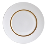 Bernardaud Limoges Cronos Gold Dinner Plate
