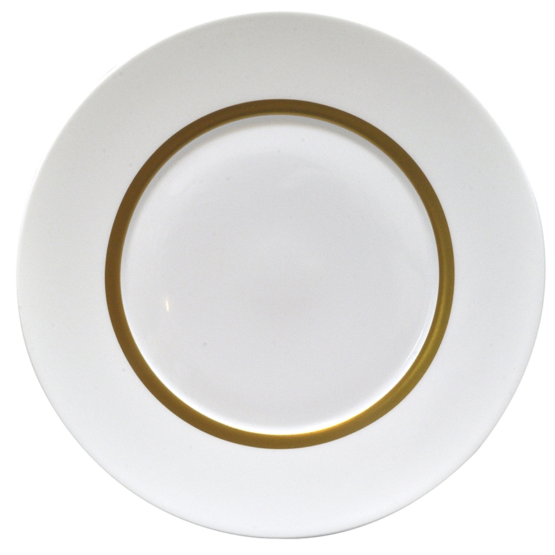 Bernardaud Limoges Cronos Gold Bread & Butter Plate