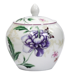 Bernardaud Favorita Sugar Bowl Boule Shape