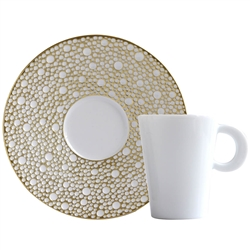 Bernardaud Ecume Mordore After Dinner Saucer Only