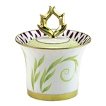 Bernardaud Frivole Sugar Bowl Covered Box