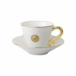Bernardaud Ithaque Gold Saucer Only