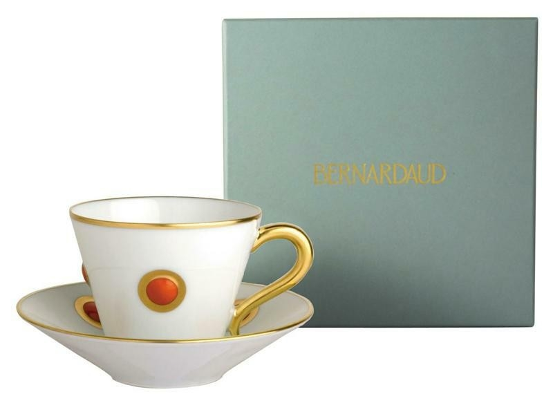 Bernardaud Ithaque Gold Orange Cup Only