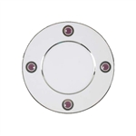 Bernardaud Ithaque Platinum Plum Bread & Butter Plate