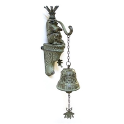 MacKenzie-Childs Frog Dinner Bell