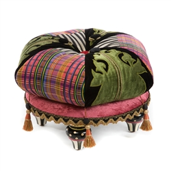 Mackenzie-Childs Portobello Road Footstool