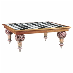 "Mackenzie-Childs Train Table 61"" X 61"""
