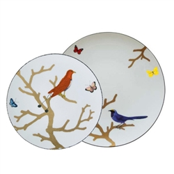 Bernardaud Aux Oiseaux 5 Pc Dinner Place Setting