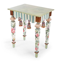 MacKenzie-Childs Marble Side Table