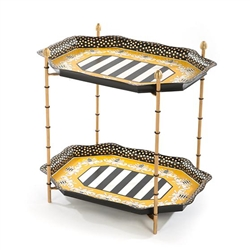 Mackenzie-Childs Queen Bee Tray Table