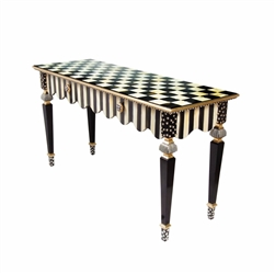 MacKenzie-Childs Courtly Stripe Console Table
