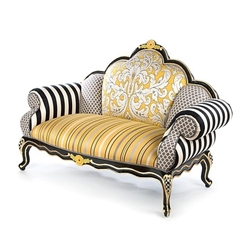 Mackenzie-Childs Queen Bee Loveseat
