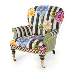 MacKenzie-Childs Cutting Garden Accent Chair