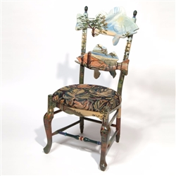 Mackenzie-Childs Forest Fish Chair