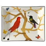 Bernardaud Aux Oiseaux Rectangular Ashtray